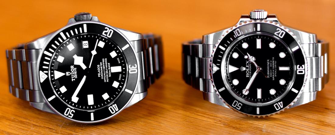 Rolex Submariner và Tudor Pelagos - Bạn lựa chọn mẫu đồng hồ lặn nào?