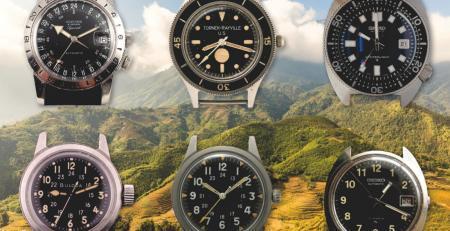 Những chiếc đồng hồ quân đội mang tính biểu tượng trong Chiến tranh Việt Nam