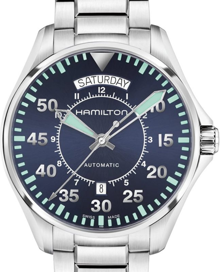 Đồng hồ Hamilton Khaki Aviation Pilot Day Date Auto