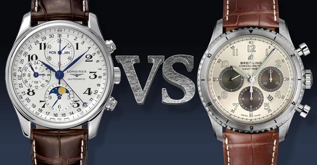 Longines và Breitling: Thương hiệu đồng hồ nào tốt nhất cho bạn?
