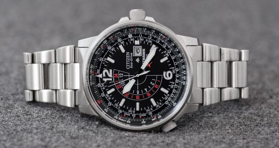 "Đồng hồ Citizen Eco-Drive BJ7000-52E ""Nighthawk"""