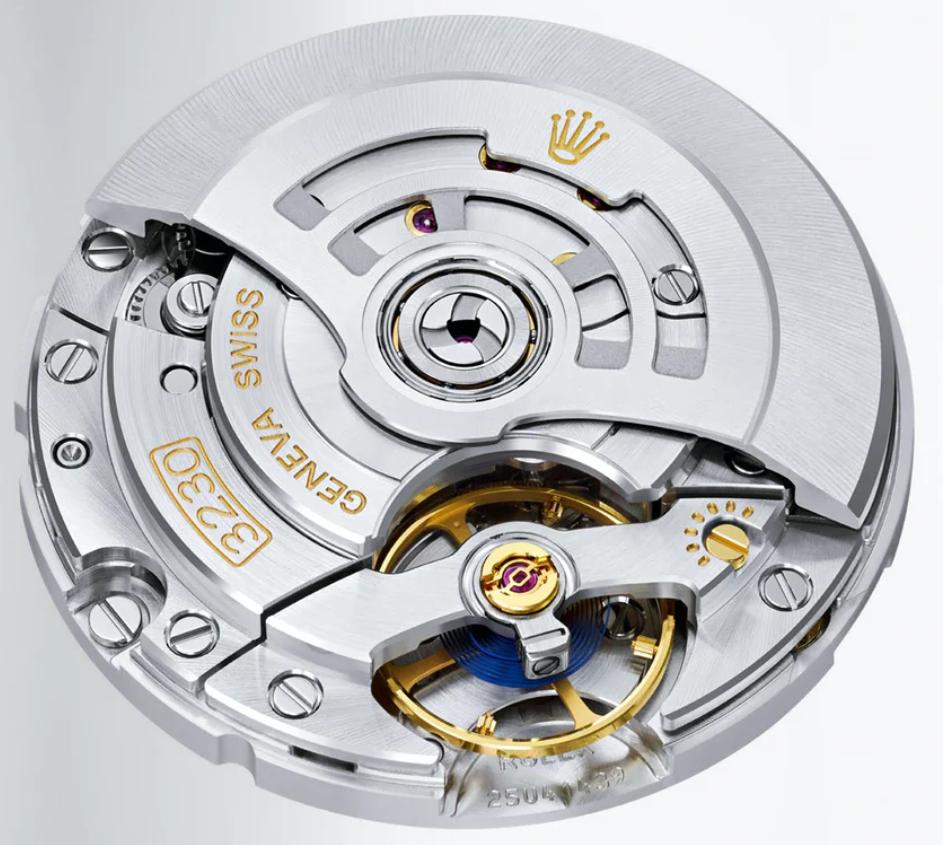 Bộ máy Rolex Calibre 3230 mới 2020