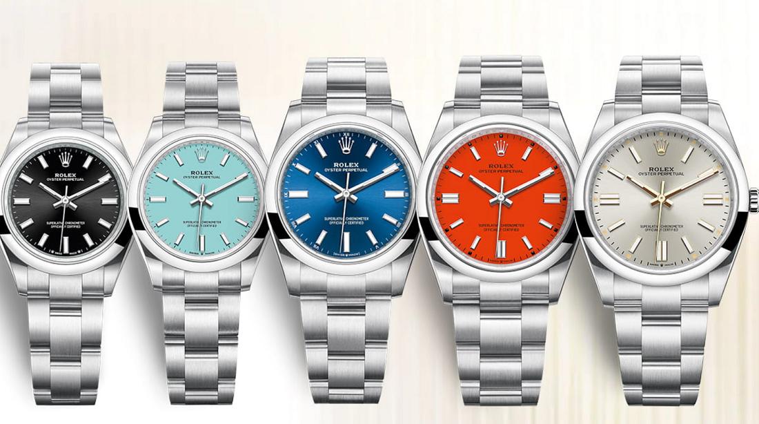 Đồng hồ Rolex Oyster Perpetual và một số mẫu Rolex mới 2020