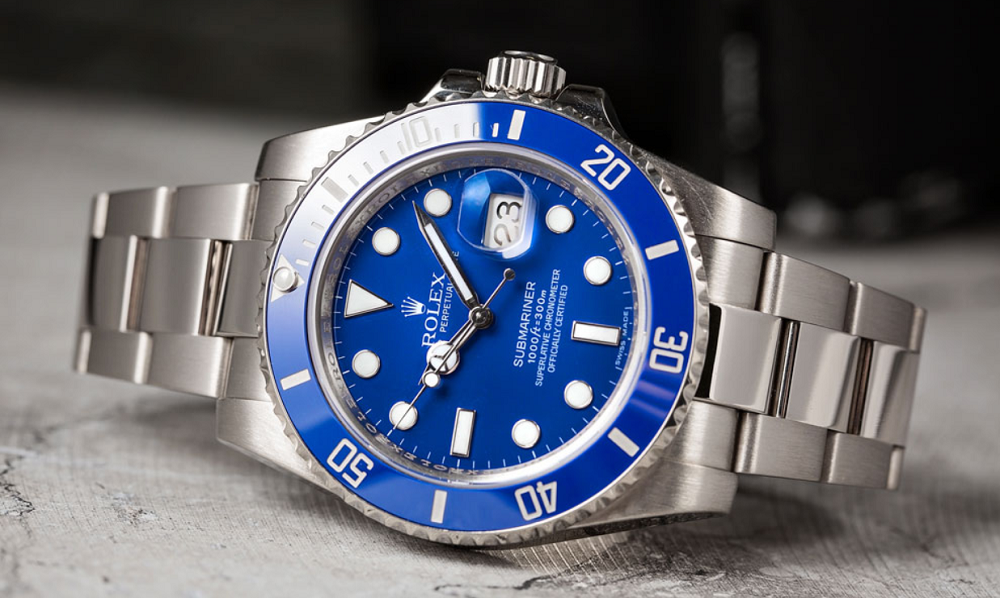 "Rolex Submariner 116619 ""Smurf"""