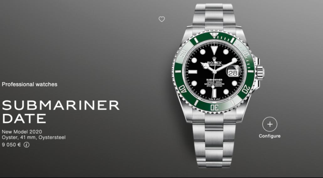 "Rolex Submariner 126610LV ""Shrek"""