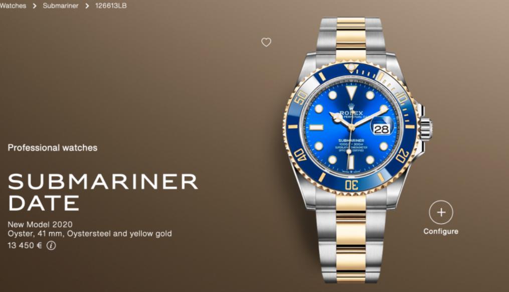 Rolex Submariner 126613LB