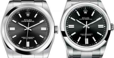 So sánh đồng hồ Rolex Oyster Perpetual 36 126000 với 116000