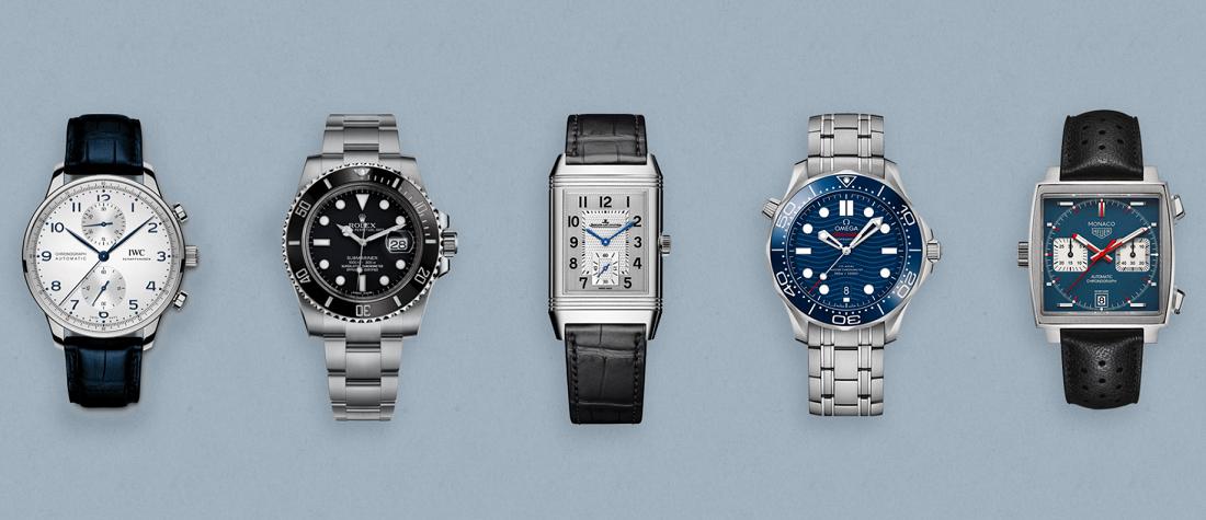20 Chiếc đồng hồ đeo tay mang tính biểu tượng nhất mọi thời đại