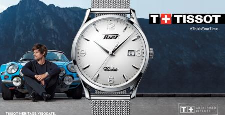 Tissot Visodate: Đồng hồ Thụy Sĩ thanh lịch giá cả phải chăng