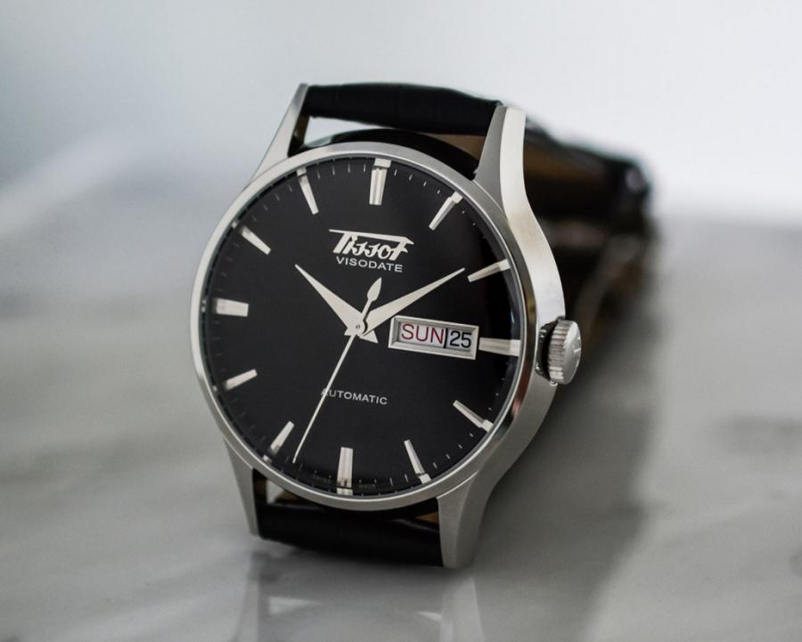 Đồng hồ Tissot Visodate mặt đen