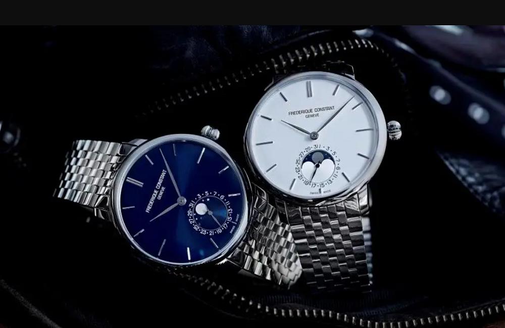 Đồng hồ Frederique Constant Slimline Moonphase