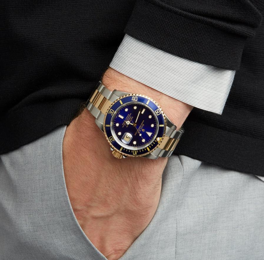 Đồng hồ Rolex Submariner 16613LB
