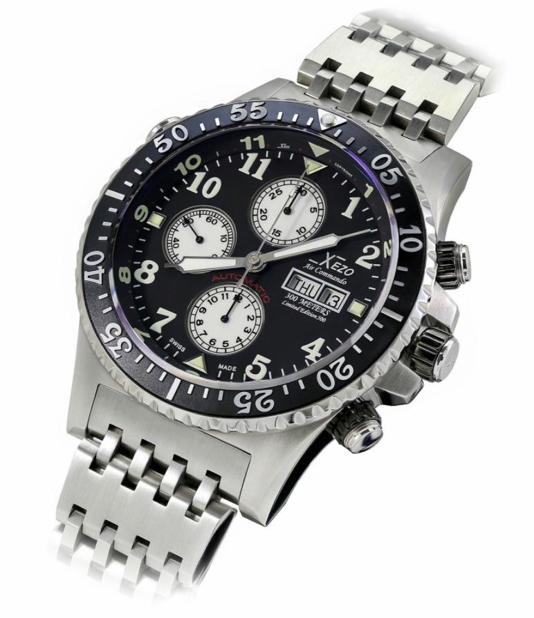 Đồng hồ Xezo Air Commando Chronograph
