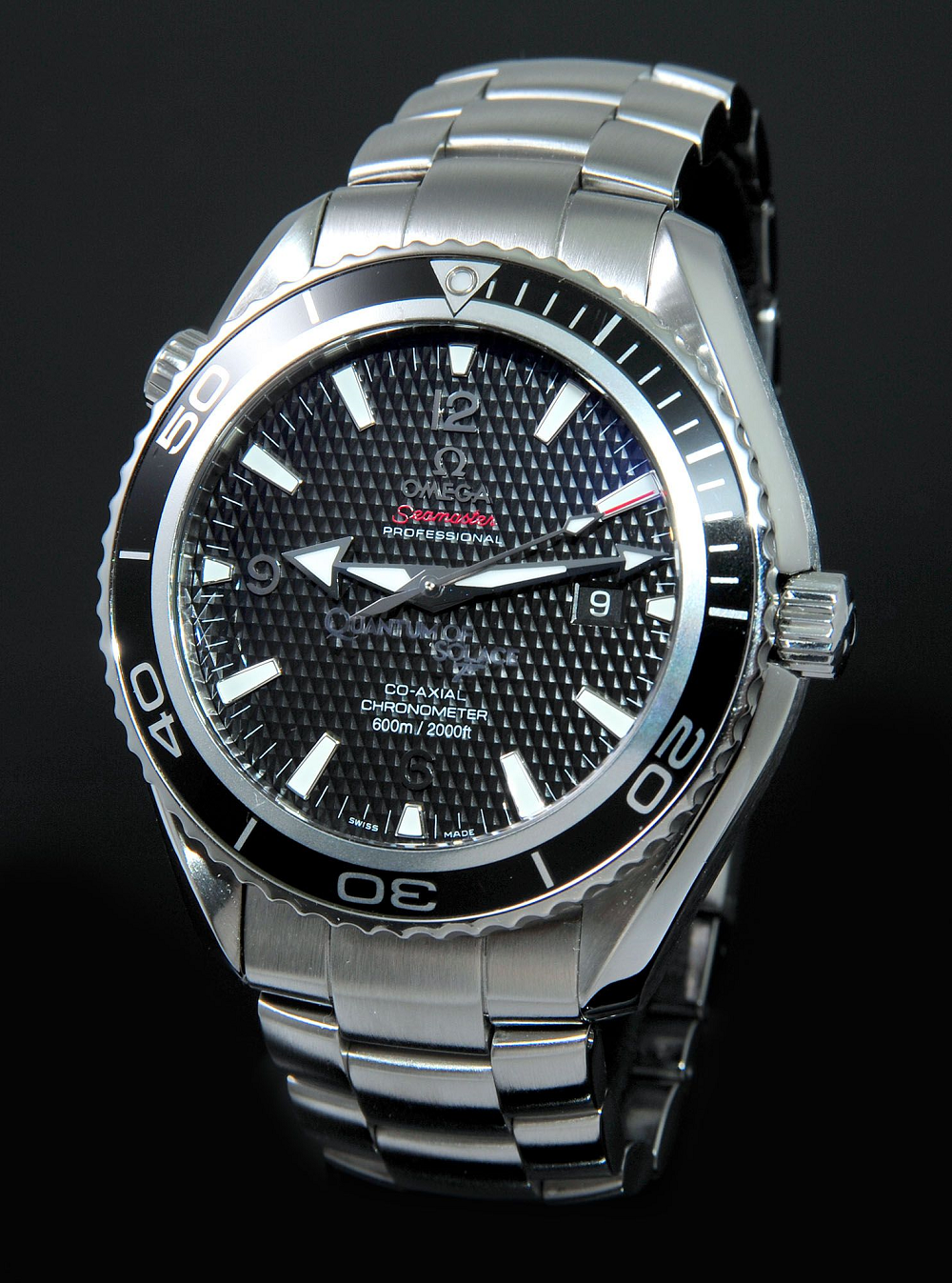 Đồng hồ Omega Seamaster Planet Ocean Quantum of Solace