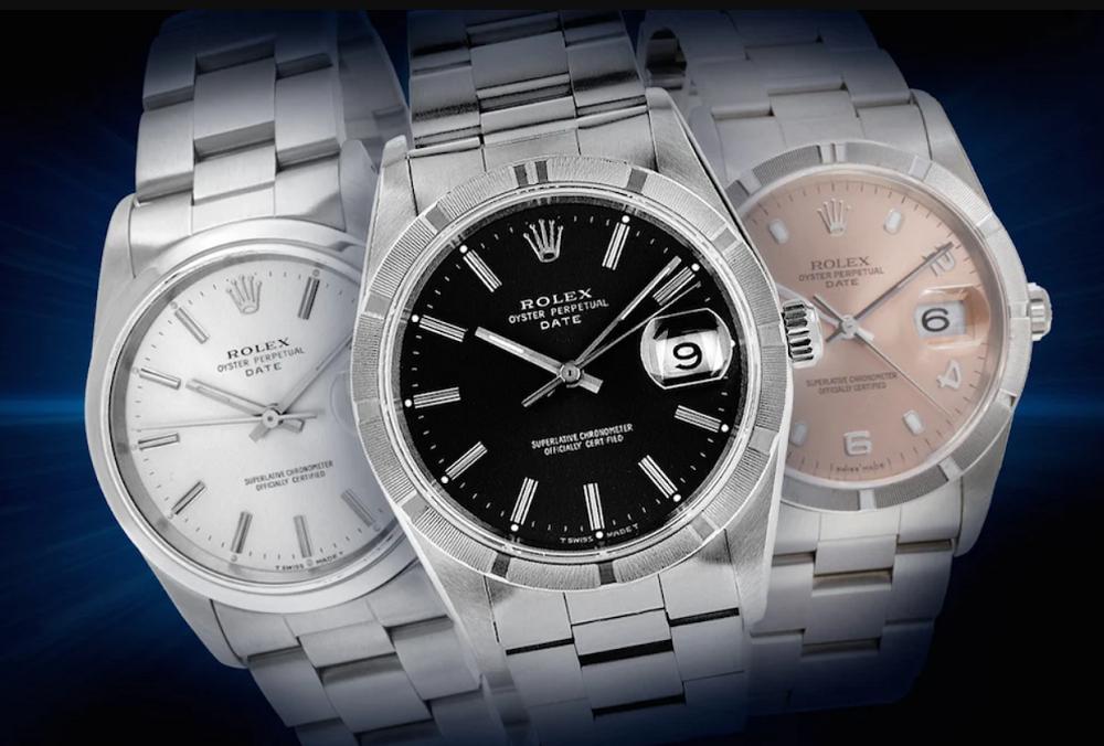 Size đồng hồ Rolex cỡ trung