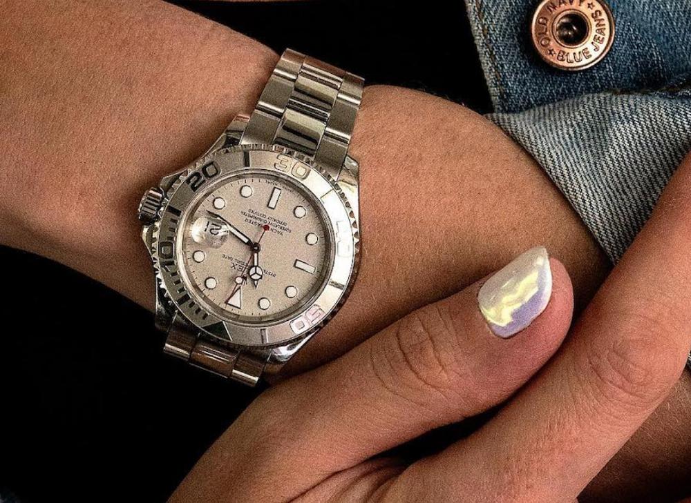 Đồng hồ Rolex nữ Yacht-Master Rolesor