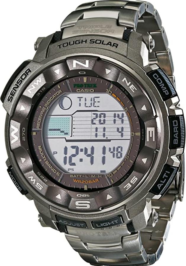 Đồng hồ Casio Pro Trek Tough Solar