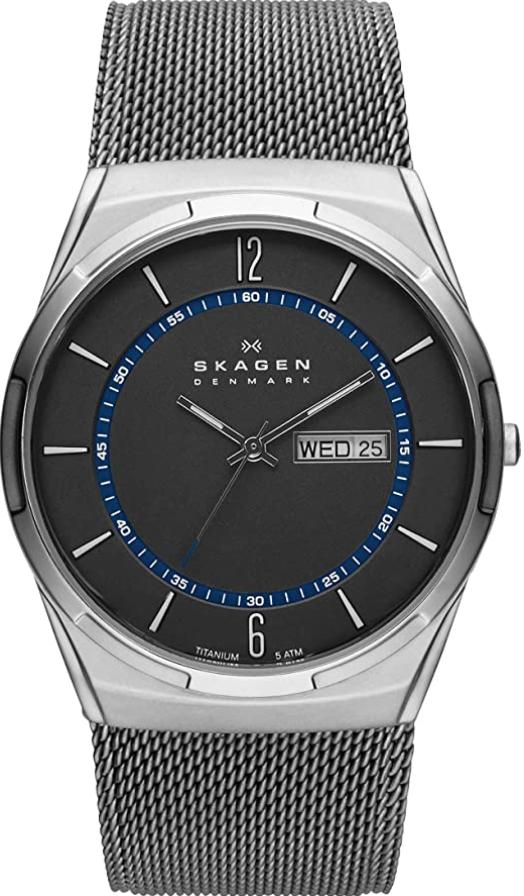 Đồng hồ Titanium Skagen Melbye Three-Hand