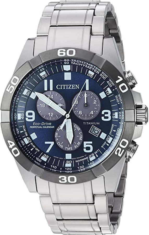 Đồng hồ Citizen Brycen Eco-Drive Super Titanium (BL5558-58L)