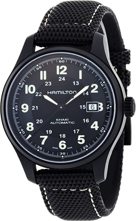 Đồng hồ Hamilton Khaki Field Titanium (HML-H70575733)