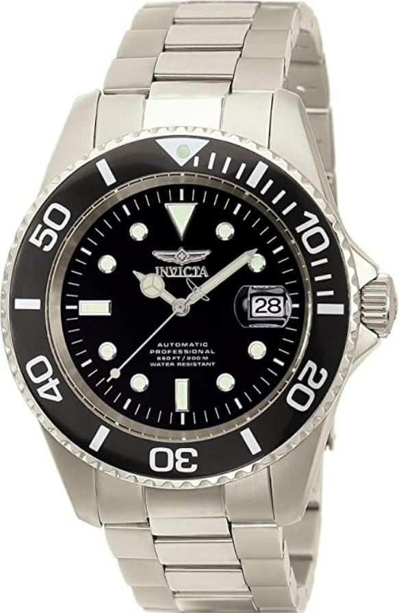 Đồng hồ Titanium Invicta Pro Diver Automatic