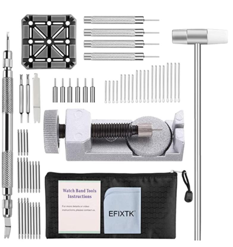 Bộ dụng cụ cắt mắt dây đồng hồ EFIXTK 24 trong 1