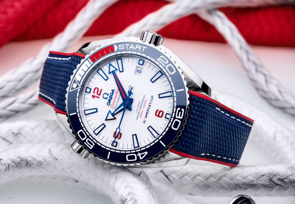 Omega Seamaster Planet Ocean 36th Americas Cup