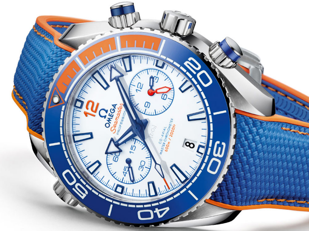 Đồng hồ Omega Seamaster Planet Ocean Michael Phelps Limited-Edition