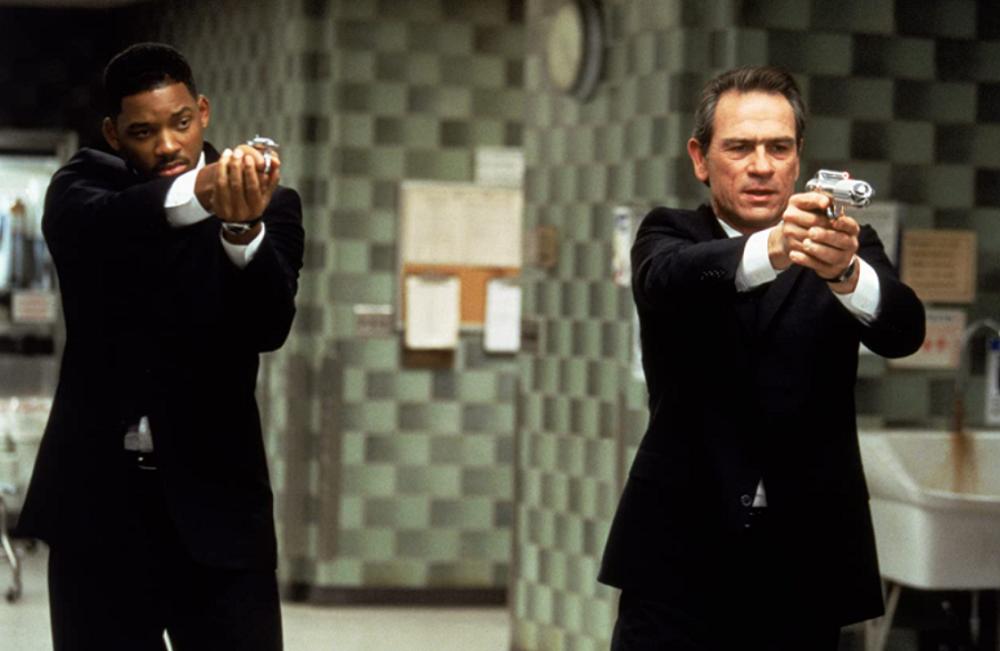 Đặc vụ Men in Black J và K