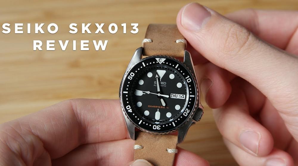 Đánh giá đồng hồ Seiko SKX013: Chiếc đồng hồ lặn cỡ vừa tốt nhất