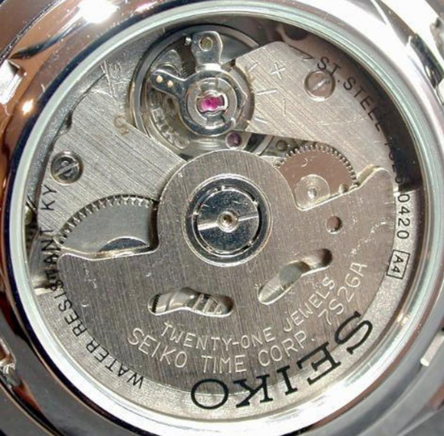 Bộ máy đồng hồ 7S26 Seiko 7S26