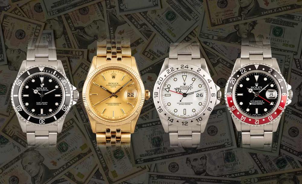 Đồng hồ Rolex chính hãng tốt nhất nên mua để đầu tư trong năm 2021