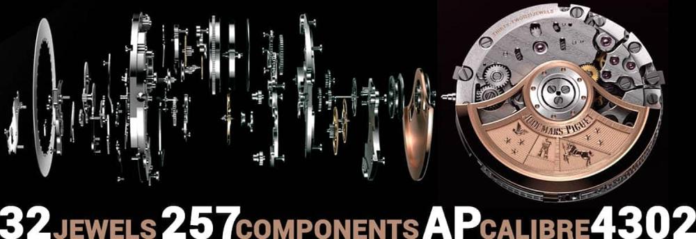 Bộ máy Audemars Piguet Calibre 4302 Automatic