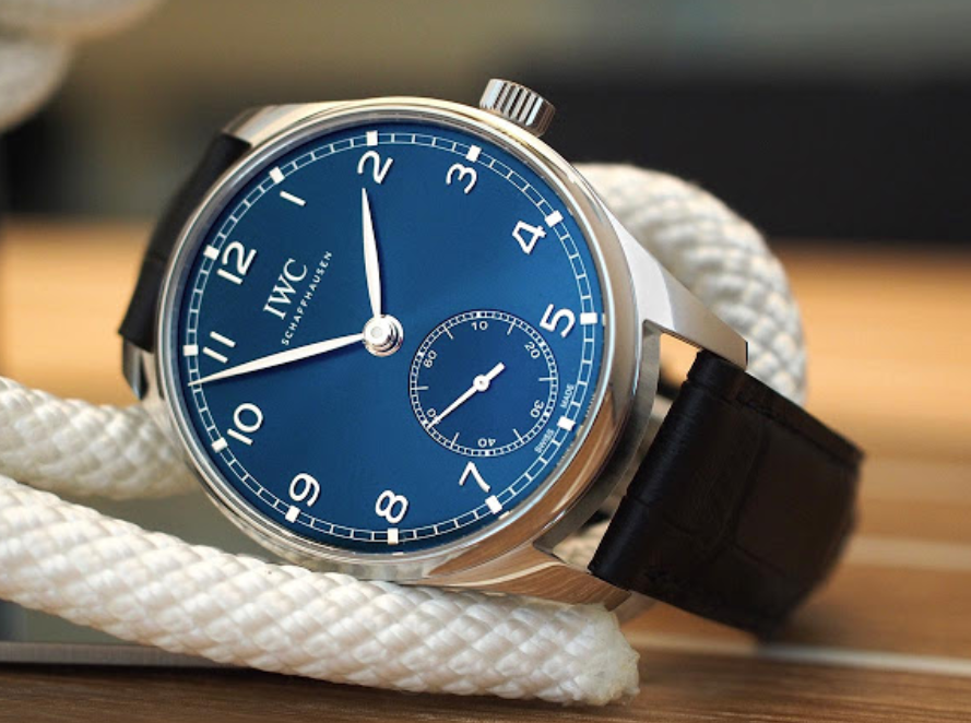 Đồng hồ IWC Portugieser Automatic 40 Blue Dial