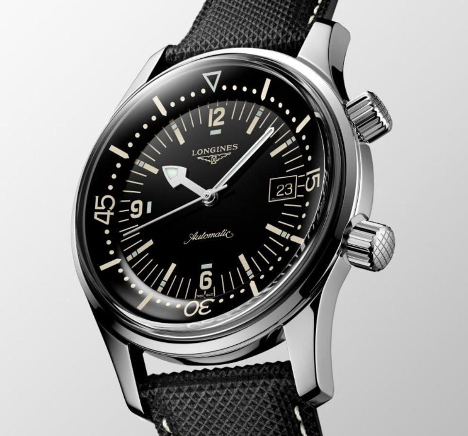 Đồng hồ Longines Heritage Legend Diver L3.774.4.50.6