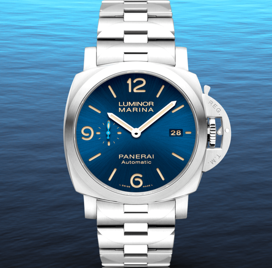 Đồng hồ Panerai Luminor Marina Blue Dial 44mm