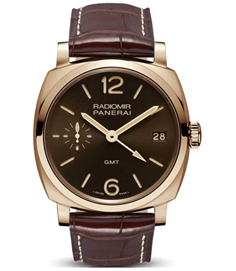 Đồng hồ Panerai Radiomir 1940 Three Days GMT Oro Rosso
