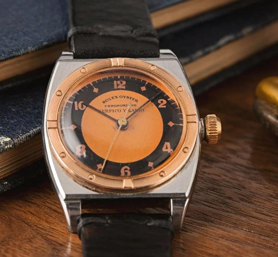 Đồng hồ Rolex Oyster 3359 với mặt số Serpico y Laino