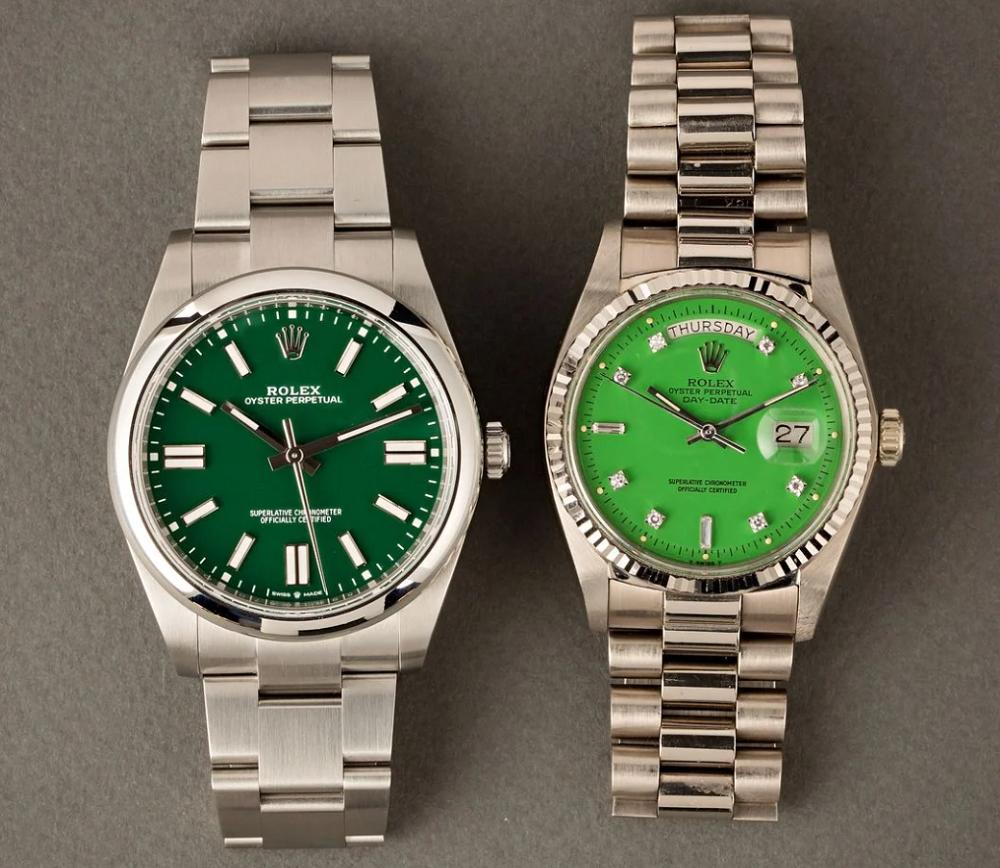 Đồng hồ Rolex Oyster Perpetual mặt số Stella Vintage