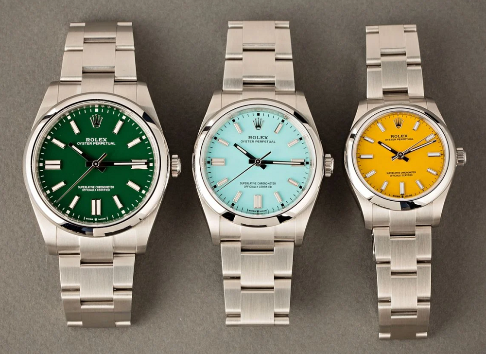 Đồng hồ Rolex Oyster Perpetual mới
