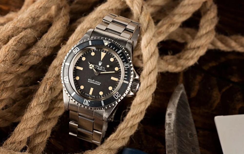 Tìm hiểu đồng hồ Rolex Submariner 5513 của Thợ lặn COMEX