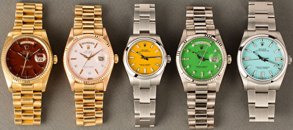 Đồng hồ Rolex Mặt số Stella so với đồng hồ Rolex Oyster Perpetual