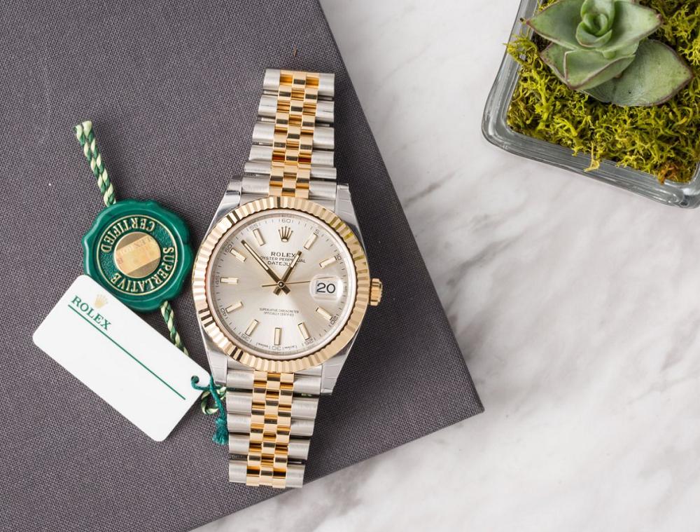 Sức hấp dẫn của đồng hồ Rolex Rolesor