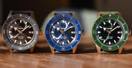 8 Chiếc đồng hồ Rado hiện đại mang phong cách cổ điển