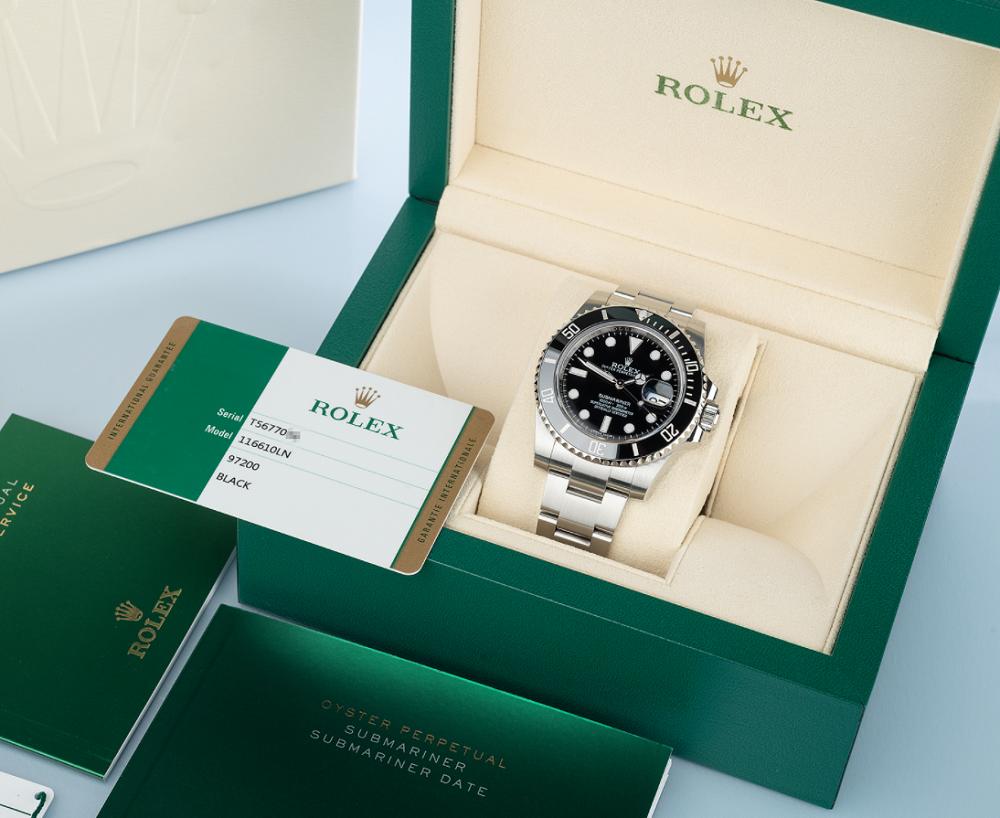 Bảo quản đồng hồ trong hộp của Rolex