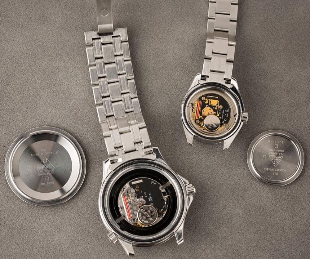 Đồng hồ Omega với bộ máy Quartz