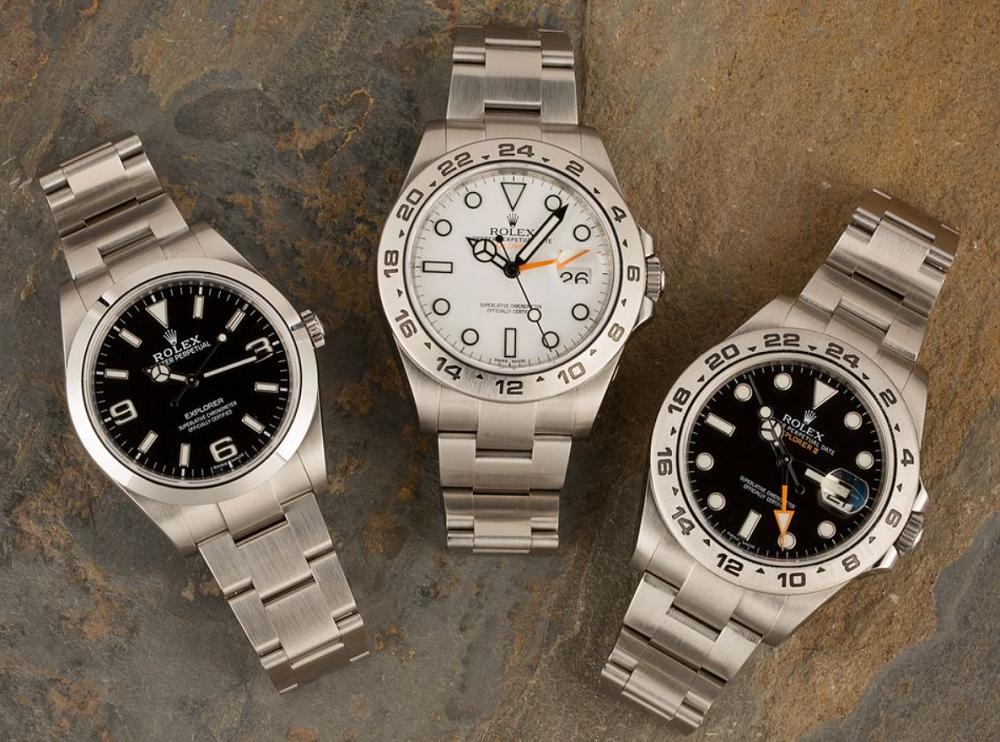 Bộ sưu tập đồng hồ Rolex Explorer