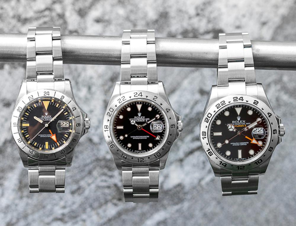 Các size đồng hồ Rolex
