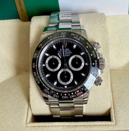 Đồng hồ Rolex Daytona 116500LN Mặt đen Thép 904L Size 40mm