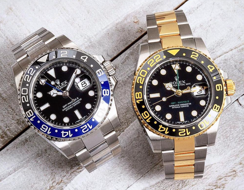 Đồng hồ Rolex GMT-Master II Size 40mm